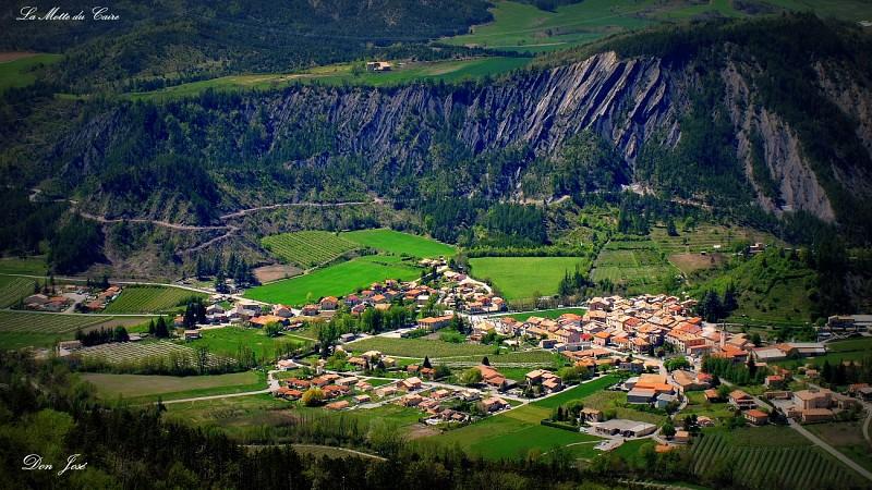 """Itinéraire rando """"Tour de la Blachère"""""""
