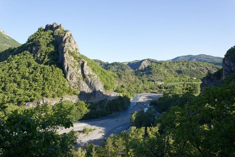 "Hiking route ""Ravin de Terre Basse"""