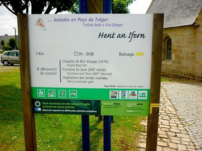 Hent an Ifern (Le chemin de l'enfer) à Plounérin