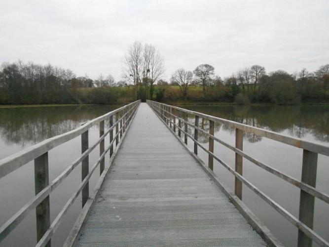 La Bouexière : autour de l'étang de Chevré