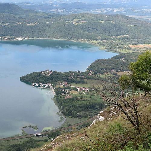Lac du Bourget depuis le Sapenay