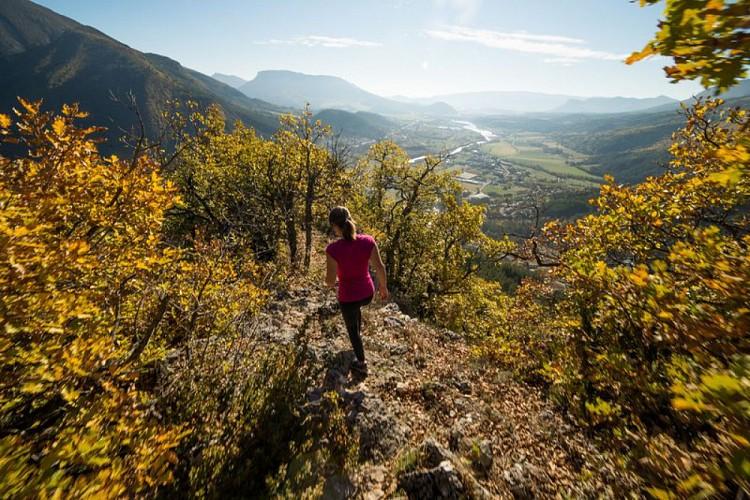 """Hiking trail """"Le Sentier des Moines"""""""