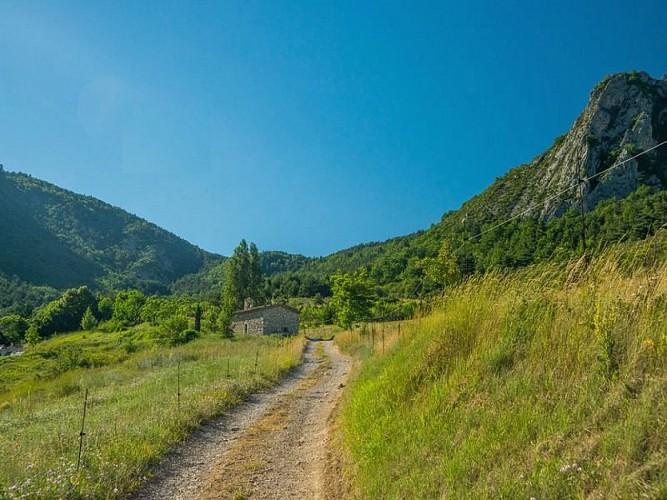 """Percorso escursionistico """"Le Sentier des Moines"""""""