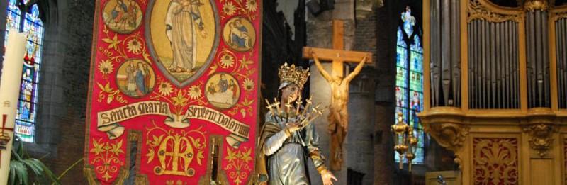 Pèlerinage Tour des sept croix à Mouscron