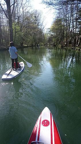 Descente du Gd Morin en paddle