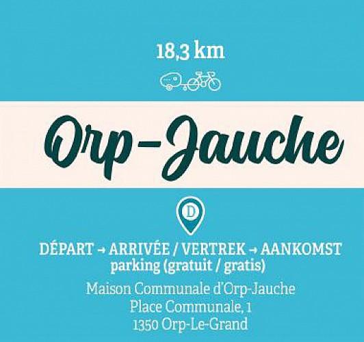 Boucle familiale à Orp-Jauche