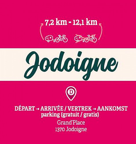 Big loop in Jodoigne with the family