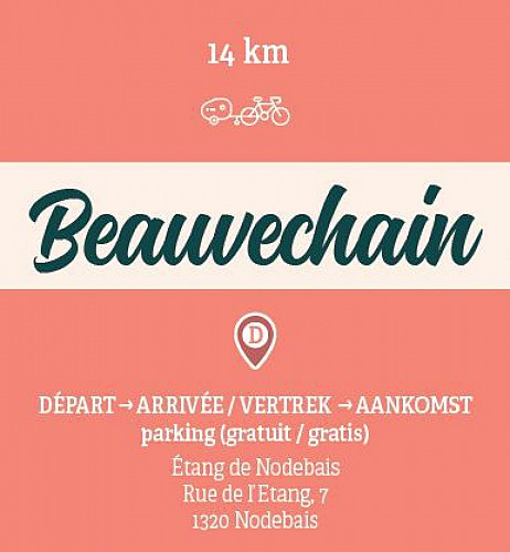 Loop in Beauvechain with the family