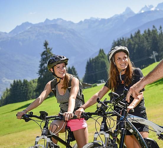 Combloux Mountain Biking area : Brons - Megève - Jaillet (n°30)