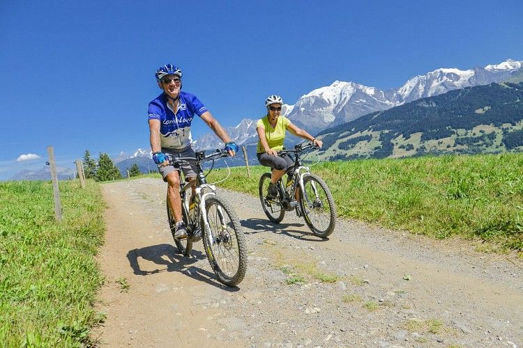 "Combloux mountain-biking area - Track 33 : ""Petit Bois"" Loop"