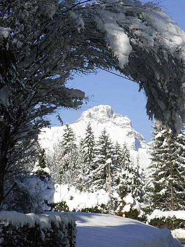 """Itinerario racchette : """"Boucle de l'Alpage de Planset"""" (cappio)"""
