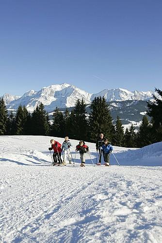 Snowshoes itinerary : l'Alpage de Beauregard