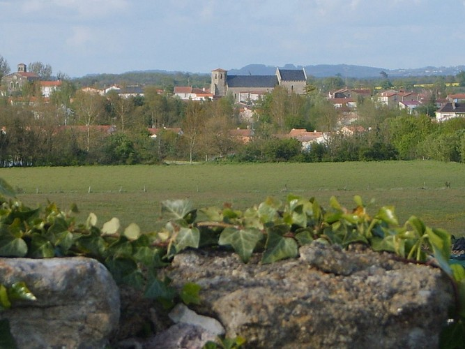 Sentier Plaine de la Touche - Saint Germain de Prinçay