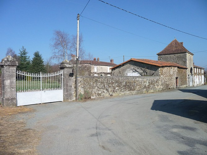 Sentier Les Barres - Saint Prouant