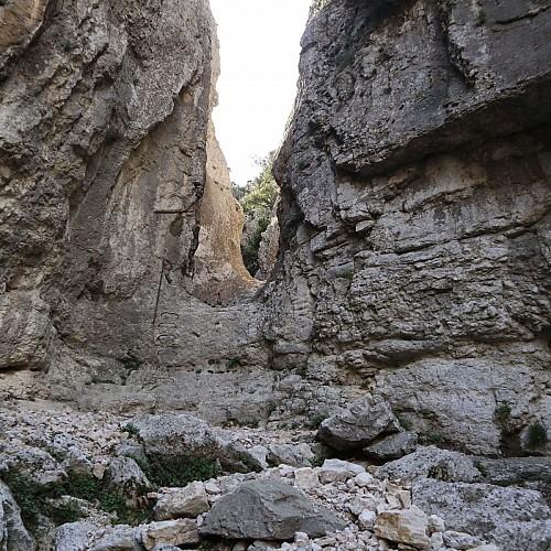 Verrou du vallon de Badarel