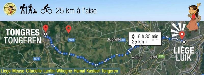 Trail Liège Meuse - Tongeren Onze Lieve Vrouw