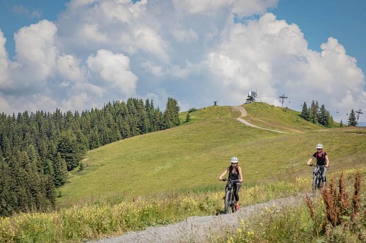 Mountain bike trail n°8 - les crêtes de Rochebrune