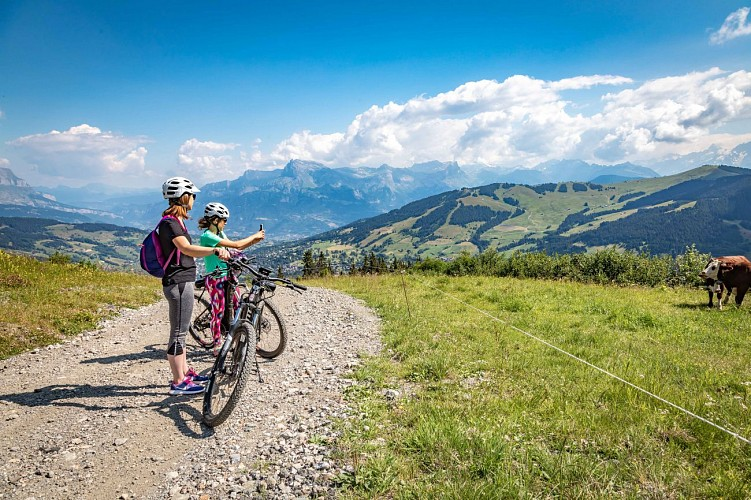 Mountain bike trail n°55 - Rochebrune