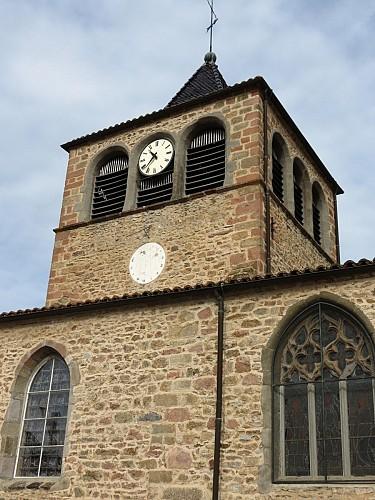 Circuit culturel de Larajasse : Le Patrimoine Religieux