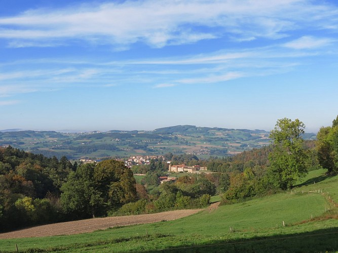 Circuit culturel de Larajasse : Mini tour des Monts du Lyonnais