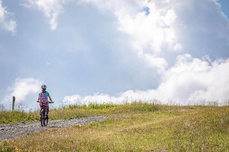 Mountain bike trail n°39 - Megève/Jaillet/centre Praz