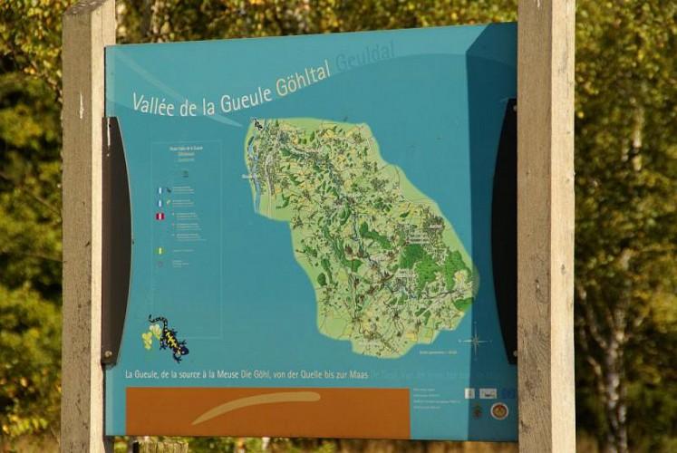 Gemmenich : Promenade de la Gueule