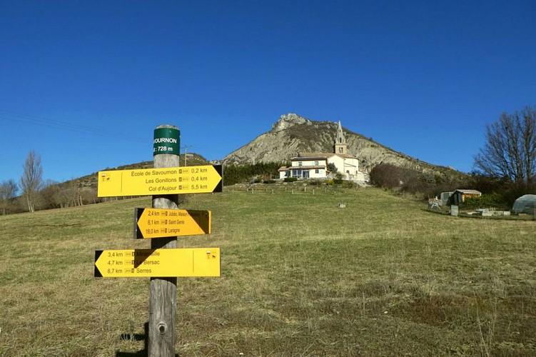 """Hiking trail """"Le tour du Pic de l'Aigle"""""""