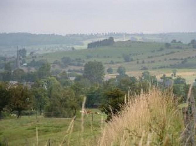 Charneux : Panoramas du Bois del Fiesse