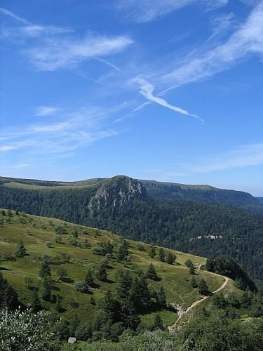 Le Mont-Dore, le Sentier du Capucin