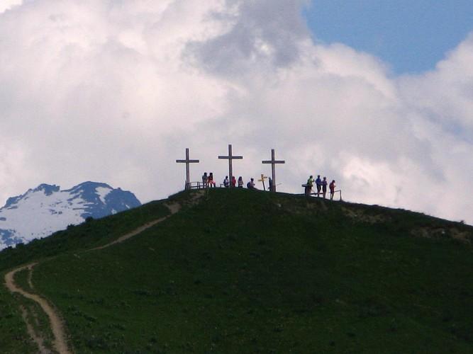 """""""La Rochette et les Trois Croix"""" path"""