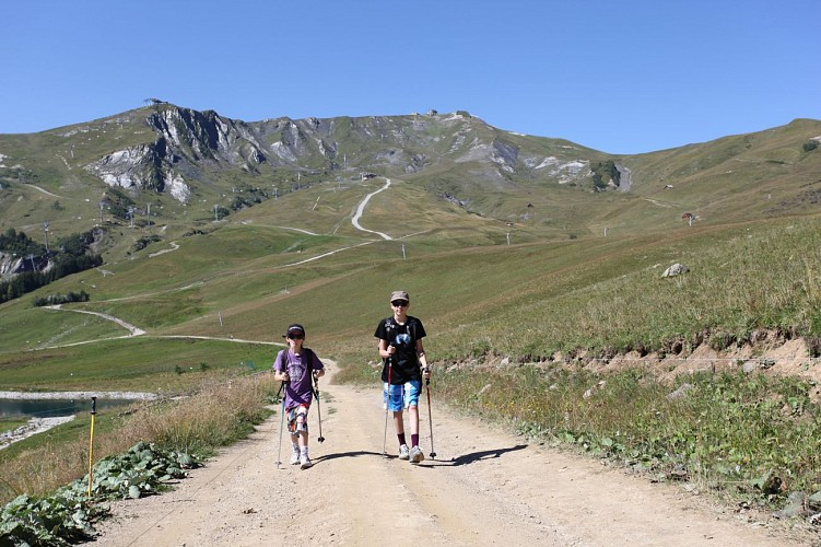 Col de Marolay - Le Grand Truc path