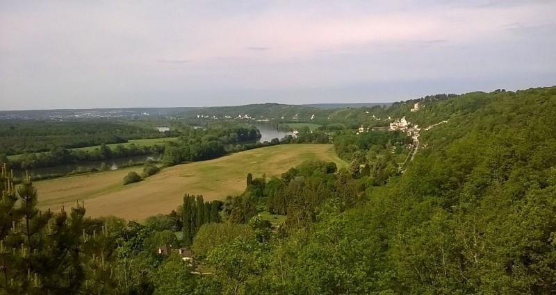 La Roche Guyon et la vallée de la Seine