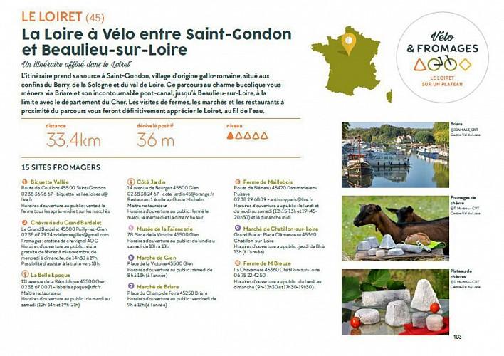 Vélo & Fromages, de Saint-Gondon à Beaulieu-sur-Loire