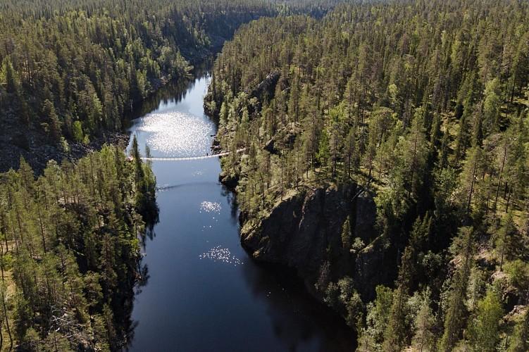 Randonnée Ölökyn Ähkäsy - Parc national de Hossa