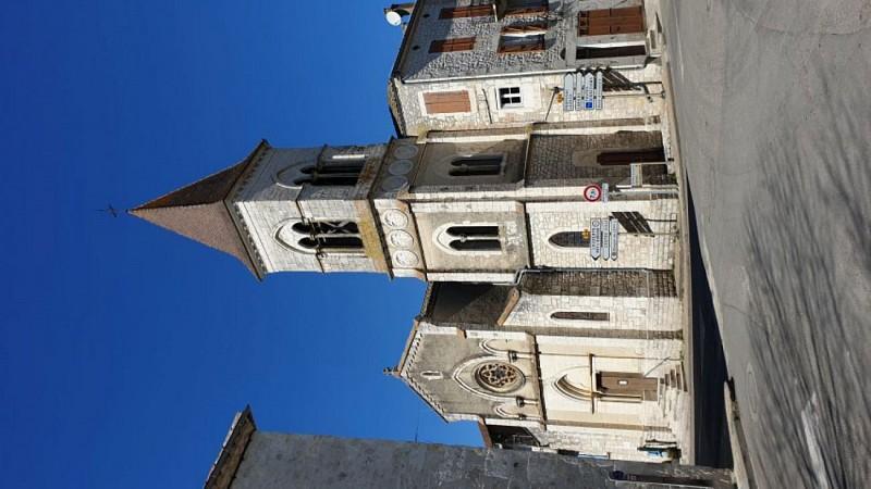 Eglise St Privat Montcuq