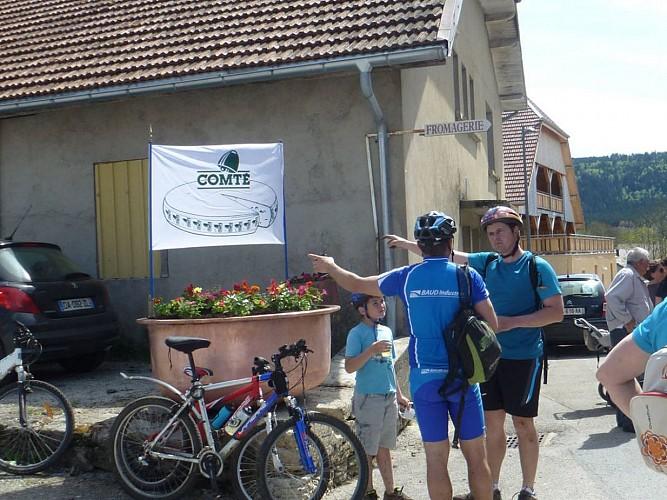 Doubs Cyclo' - Liaisons douces Vélo & Fromages - Vaux-et-Chantegrue