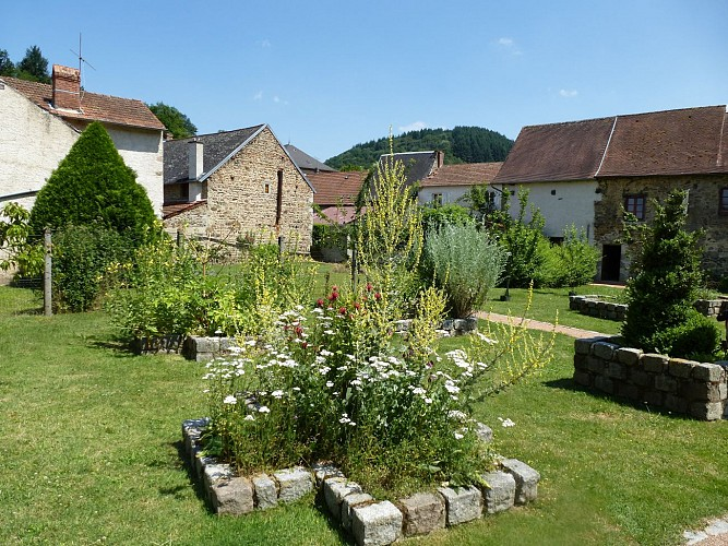 Jardin médiéval d'Arronnes