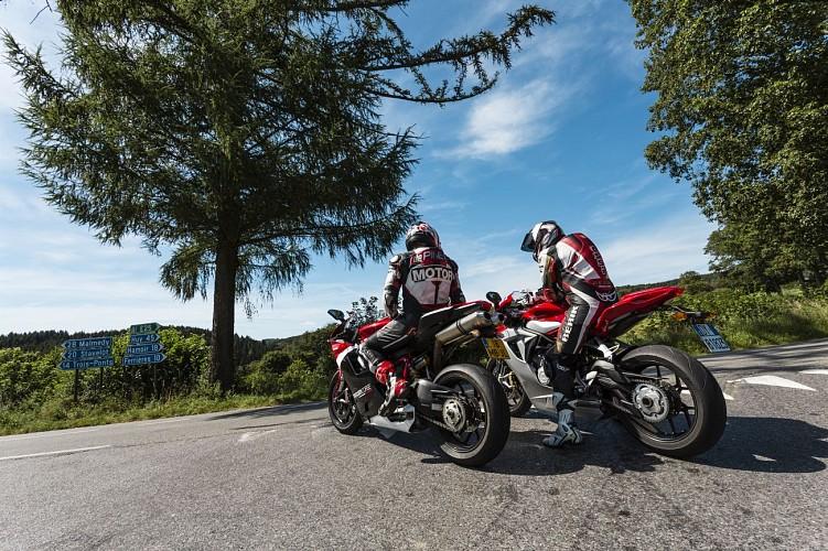 En moto au Pays de Vielsalm & Gouvy