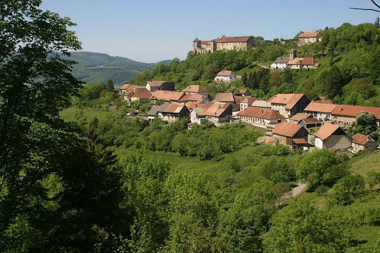 Doubs Cyclo' - Le Château de Belvoir - Saint-Hippolyte
