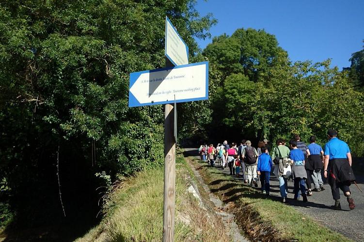 Le chemin du patrimoine de St Germain la Rivière