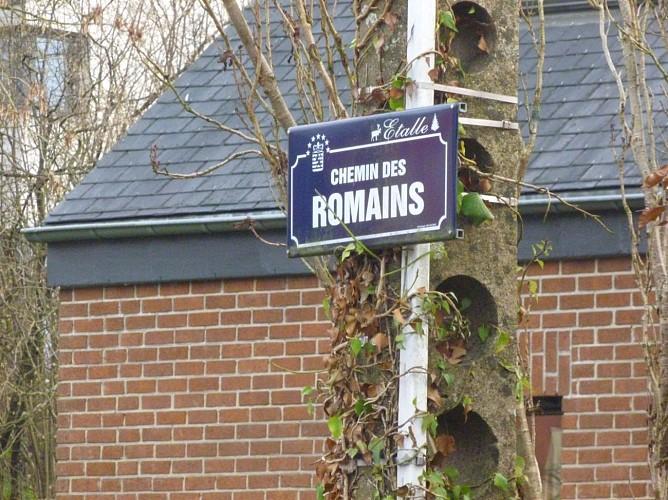 De Villers-Tortru à Lenclos par la chaussée romaine