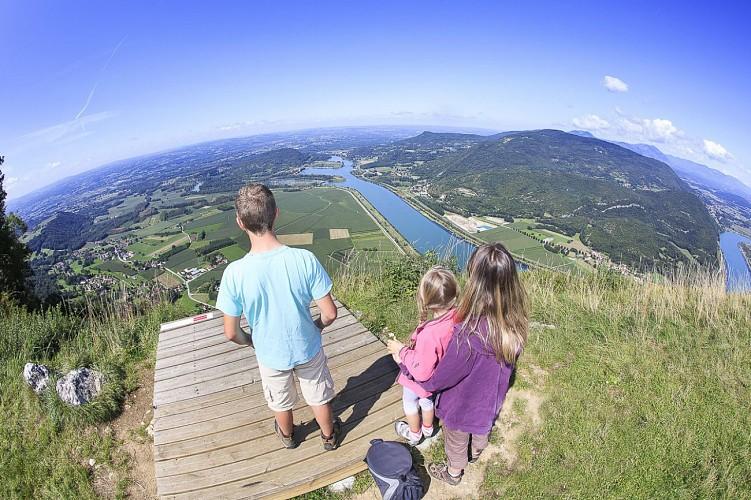 Escapade le long de la rivière Guiers et du Fleuve Rhône