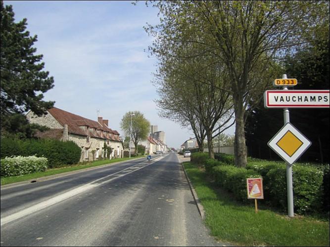 """VAUCHAMPS  """"Vers Fontaine au Bron"""""""