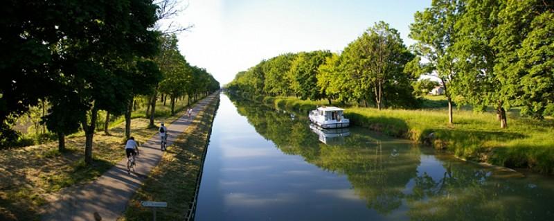 La Vélo Voie Verte du Canal des Deux Mers