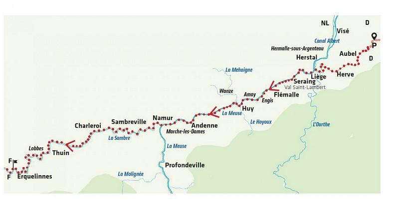 EuroVelo 3 - La Thudinie au fil de l'eau