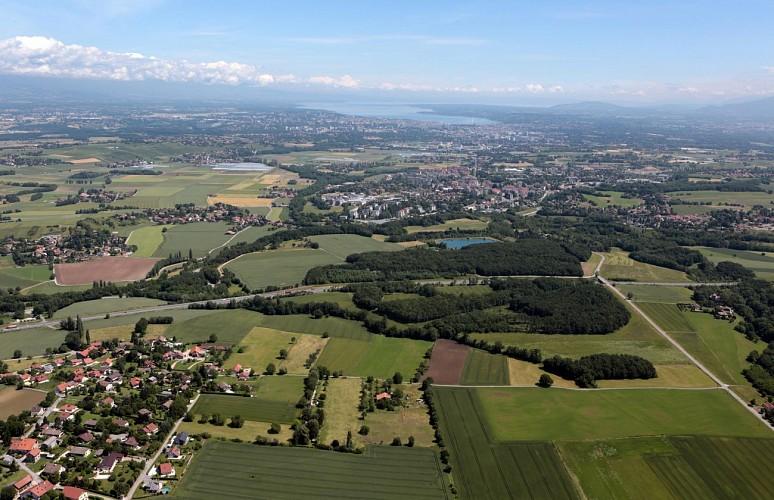 Franco-Swiss landscapes: Soral - Thairy - Laconnex