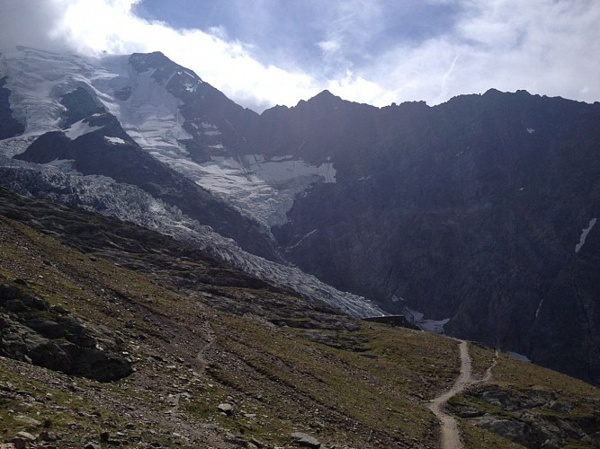 Bellevue - Bionnassay glacier trail