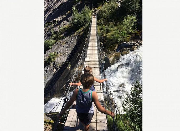 pont suspendu vers bionnassay