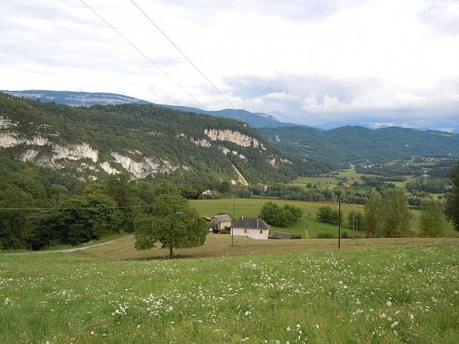 Sentier de randonnée G4 - Les promenades de Verel-de-Montbel (boucle du Bajat et boucle du Beaugeru)