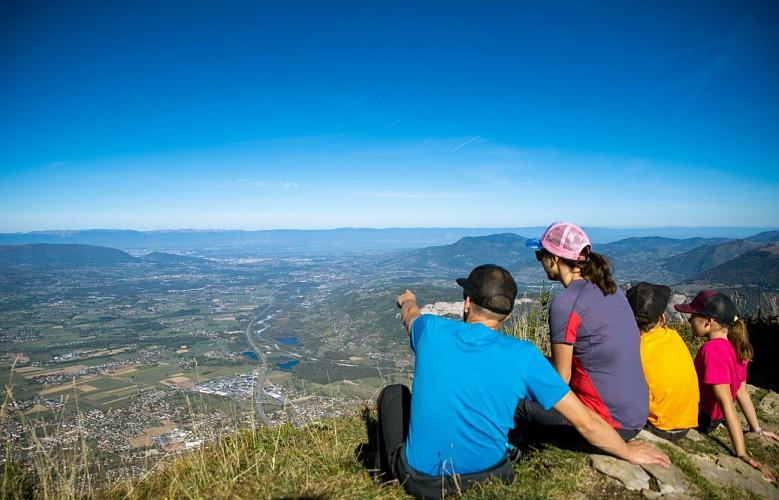 Randonnée pointe d'Andey©FGT
